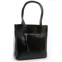 Женская кожаная сумка ALEX RAI 8773 black
