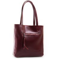 Женская сумка кожаная ALEX RAI 8773 dark-red