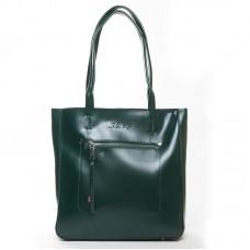 Женская сумка натуральная кожа Alex Rai 8773 green