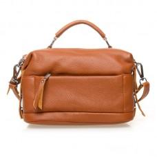 Женская кожаная сумка Alex Rai №8777-9 Рыжий