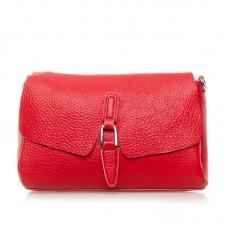 Женская сумка из кожи Alex Rai №8778-9 Красный