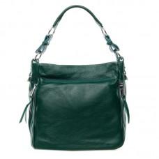 Женская сумка из натуральной кожи Alex Rai №8779-9 Зелёный