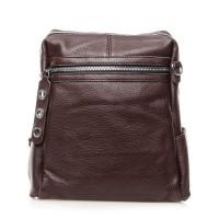 Рюкзак женский кожаный Alex Rai №8781-9 Коричневый