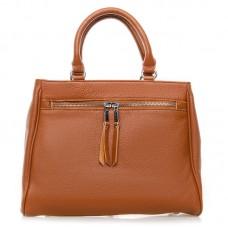Женская кожаная сумка Alex Rai №8782-9 Рыжий