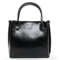 Женская кожаная сумочка Alex Rai 8784 black