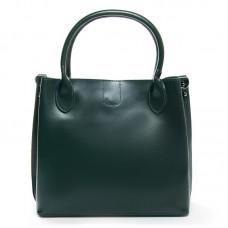 Женская сумка кожаная небольшая Alex Rai 8784 green