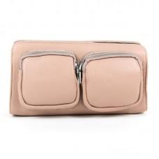 Женский клатч кожаный Alex Rai 8785-9 pink