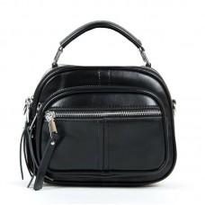 Кожаная сумочка-клатч женский Alex Rai 8802 black