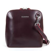 Женский кожаный клатч Alex Rai 8803 burgundy