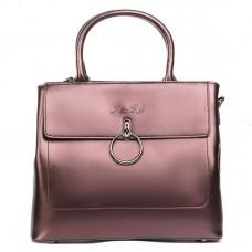 Женская сумка натуральная кожа Alex Rai №9921 brown