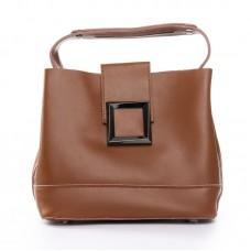 Женская сумка из натуральной кожи Alex Rai №9924-206 yellow-brown