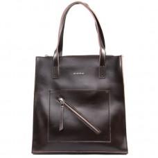 Женская сумка из натуральной кожи Alex Rai №9926 brown