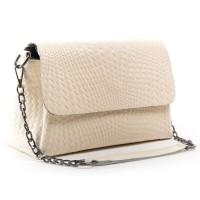 Женская кожаная сумка ALEX RAI J009-1 beige