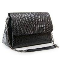Женская сумка кожаная ALEX RAI J009-1 black