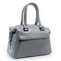 Женская сумка из натуральной кожи ALEX RAI P1532 light-grey